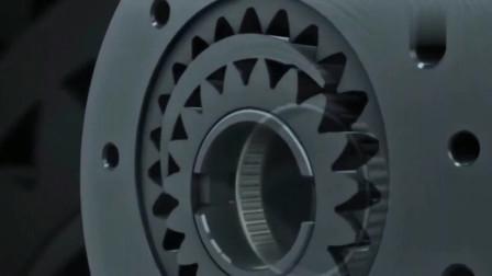 奔驰的变速箱长什么样?第一次见,很复杂!