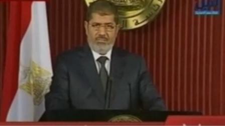 埃及前总统穆尔西庭审中去世 曾在庭上自辩5分钟