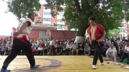 天津摔跤,这样的对手真难缠,不小心还被他借力了