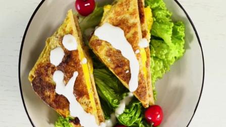 早餐不知道吃啥?教你做芒果酸奶西多士,五分钟做好营养早餐