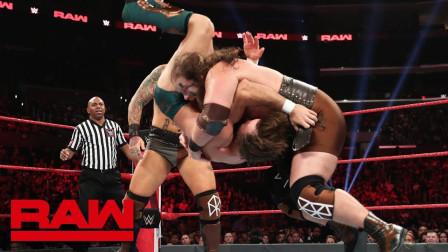 【RAW 06/17】维京战士两名灵活的胖子 霸气秒杀当地摔跤手