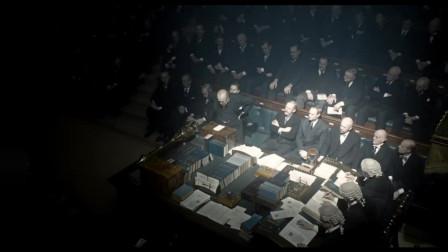 至暗时刻,加里奥德曼饰演的丘吉尔,一场演讲将演技展现的淋漓尽致
