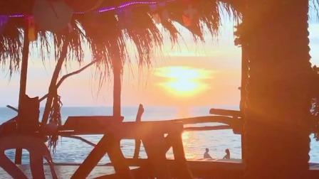夕阳西下海边荡秋千,吉克隽逸感性大爆发现场献唱