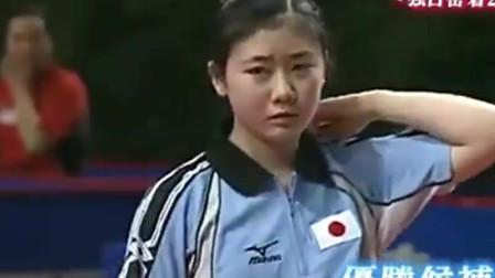 福原爱连败新加坡、韩国 日本沸腾 然后遇到了大魔王张怡宁