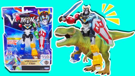 战神金刚百兽王玩具 大战恐龙