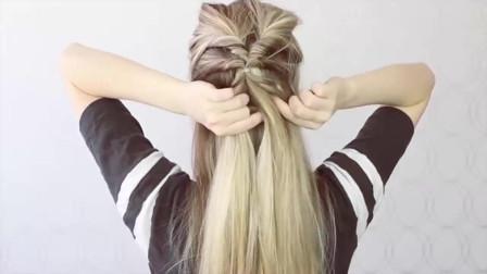 长发或中长发怎样扎头发比较好看教你一种好看的辫子编发
