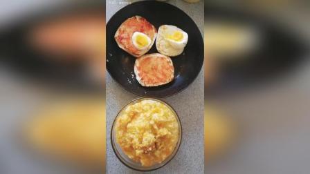 三黄粥香酥馒头片 好几天不见呀, 来个明亮的早餐