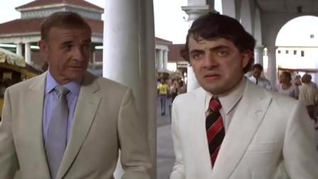 007电影《巡弋飞弹》:憨豆跑龙套,镜头不多但已难掩其喜剧才华