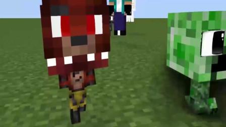 我的世界游戏小动画: 巴迪老师表示你很顽皮呀