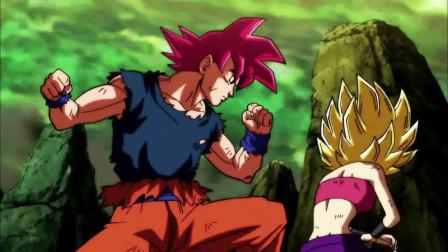《龙珠》果然是超级赛亚人之神!悟空一人挡住两人攻击!