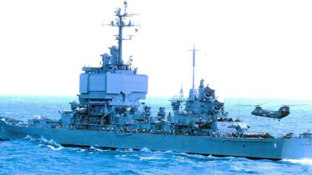 美军万吨级核动力巡洋舰,能紧跟核航母绕地球兜一圈