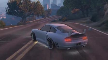 GTA5:打上漂移mod再配上BGM,这真的不是QQ飞车吗?