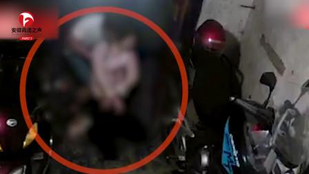 女子醉倒家门口,被陌生男子拖到竹林,监控拍下全过程