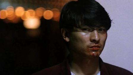 《五虎将之决裂》刘德华和黄日华为去的兄弟们,最后玩枪的动作太帅