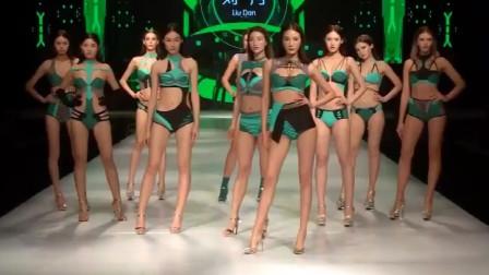 2019亚洲模特大赛比基尼秀,满屏的大长腿,看得心太乱!