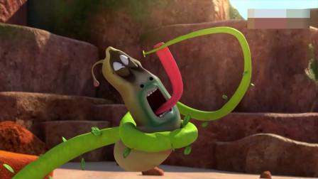 《爆笑虫子》第四季:玉米触手怪霸占海岛,捆绑所有人。