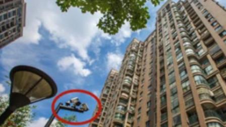 为防高空抛物 杭州一小区装47个摄像头全部朝天