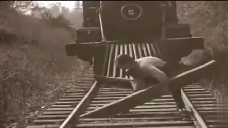第一根是勇气,第二根是智慧,可算知道火车前面那个是干嘛用的了