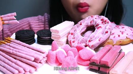 春日樱甜点组合(甜甜圈、威化饼干、威化巧克力、软糖、奥利奥)