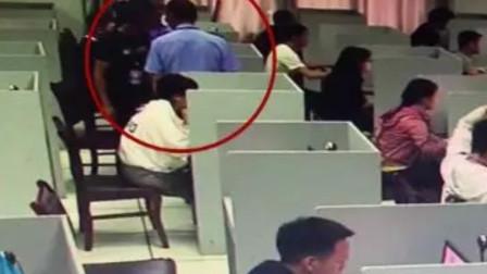 四川一男子科目一考试带针孔摄像头:花300块租的作弊设备