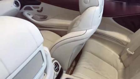 2018款奔驰S560Cabriolet到店实拍,车门打开才是奢华的开始