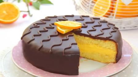 还有什么是甜品师不能做的?橙子混着巧克力也能做美味的脆皮蛋糕