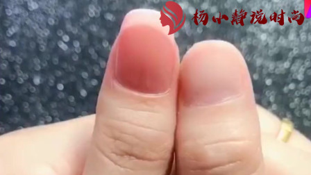 美甲教程:法式甲,这样做的短指甲超自然,也特别简单好学!+