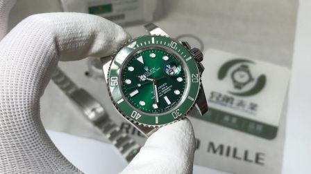 【金子讲表】目前最强版本绿水鬼AR厂904钢腕表