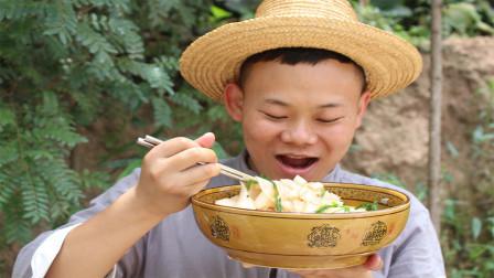 卷粉怎么吃才爽?小伙用云南做法做了一大碗,最后连汤都喝了
