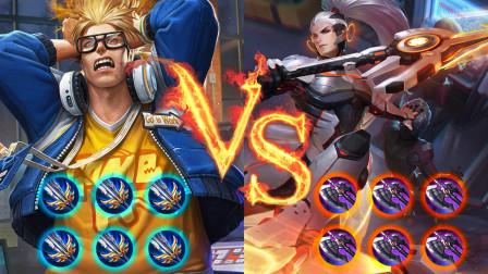 王者单挑赛:典韦vs韩信,典韦:别说我欺负你!我让你一只手!