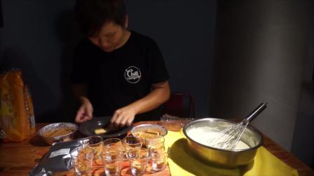 免烤箱,教大家制作美食做提拉米苏,超简单零失误讨好吃了