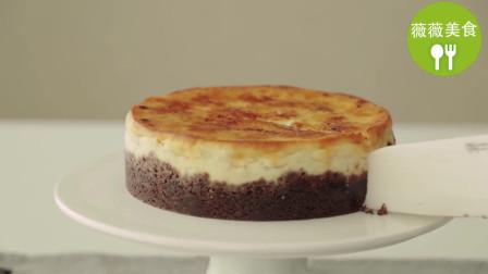 香蕉蛋糕系列1:香蕉芝士蛋糕,香甜可口,入口即化,超级赞