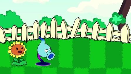植物大战僵尸:豌豆射手获取能力宝石,与灭霸展开对决
