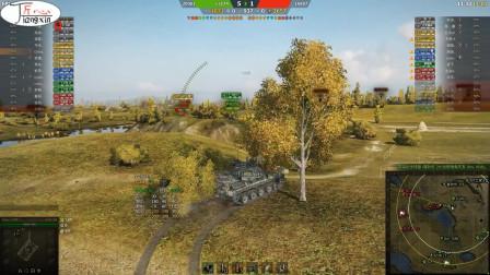 坦克世界AMX30b马利诺夫卡无限的进攻才有高伤的基础第一期