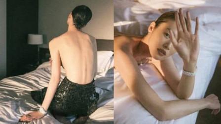 刘雯写真大胆裸上半身,爷们气势A爆全场,网友:终于懂她的美了