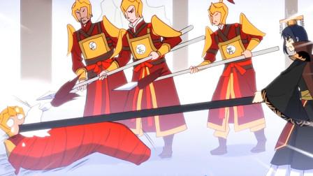 大王不高兴:凶手原来是李天王的亲卫,阎王用金箍棒暴打凶手!