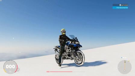 飙酷车神2:宝马水鸟真的厉害,无须辅助工具都可以攀爬雪山