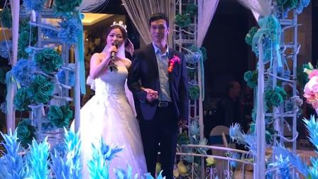 太感人了!新娘在婚礼上和父亲跳舞感动全场,网友:这礼随的不亏