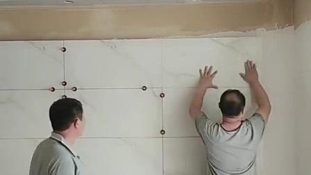 抛釉瓷砖上墙做立体电视墙,这样的做法你会满意吗?