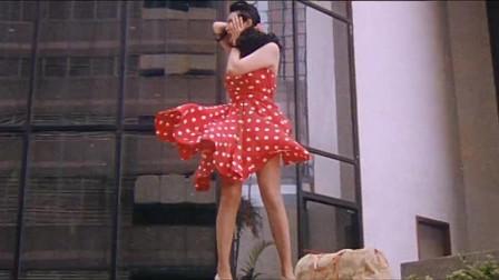 美国有玛丽莲梦露吹裙子,中国有邱淑贞吹裙子,都很好看!