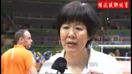 女排摘得铜冠回国后, 教练郎平接受采访说要感谢徐丽云, 她是女排身后得无名英雄