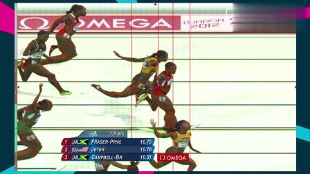 精彩回顾:伦敦奥运会男子100米决赛,真是好看!