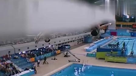回顾:2004年中国女子跳水夺冠,看到水花我笑了!