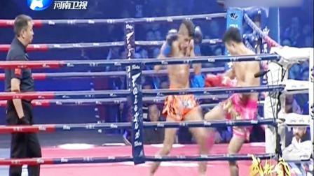 中外悍将重拳对攻比谁骨头硬,中国勇士大意出击旧伤复发!