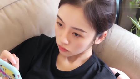 祝晓晗:闺女没男朋友只能呆在家,还得承受来自老爸的套路,太可怜了!