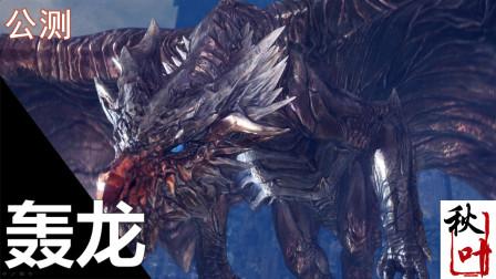 【怪物猎人世界 冰原dlc】beta测试试玩02 轰龙