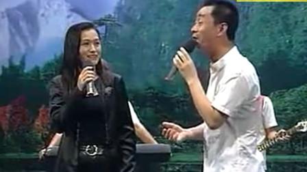 观众提问题,到底情人好还是老婆好,张帝用小品和唱答两种方式告诉你