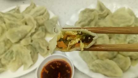 饺子的新做法,调陷配料都告诉您,个个皮薄馅大,特香,值得推荐