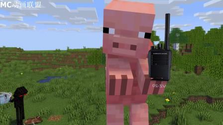 我的世界动画-怪物学院-小猪特工来了-Thunder Animations