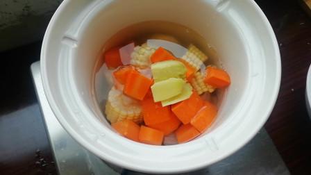 玉米 胡萝卜瘦肉汤